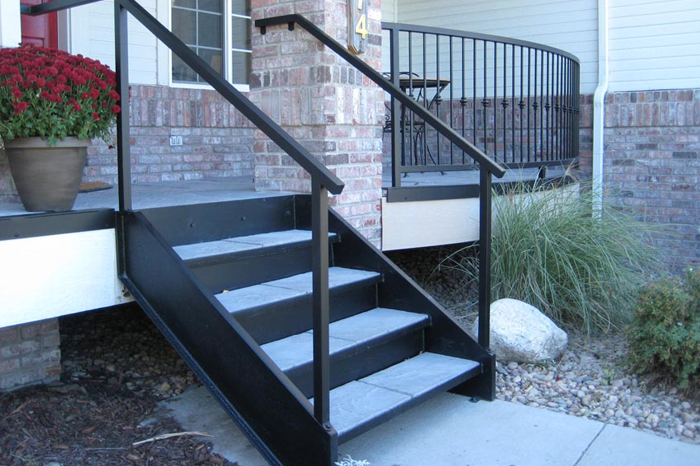 metal stair construction