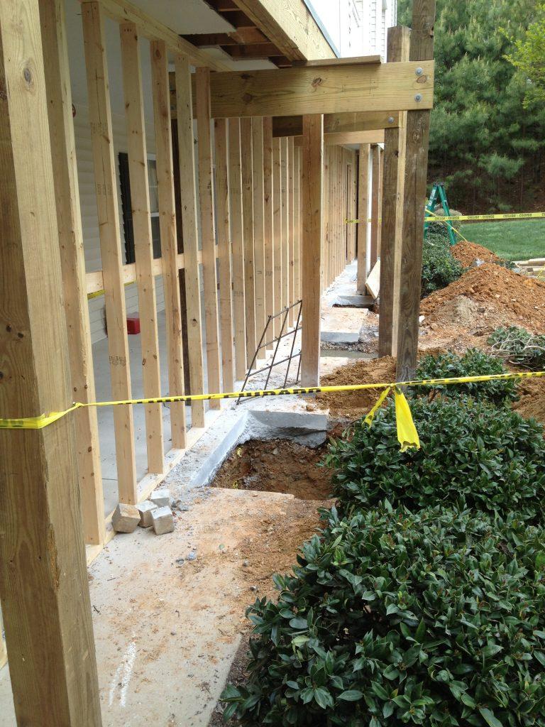 deck repair and concrete